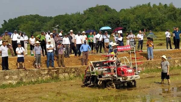 富来威入选亚太农机检测网培训用插秧机