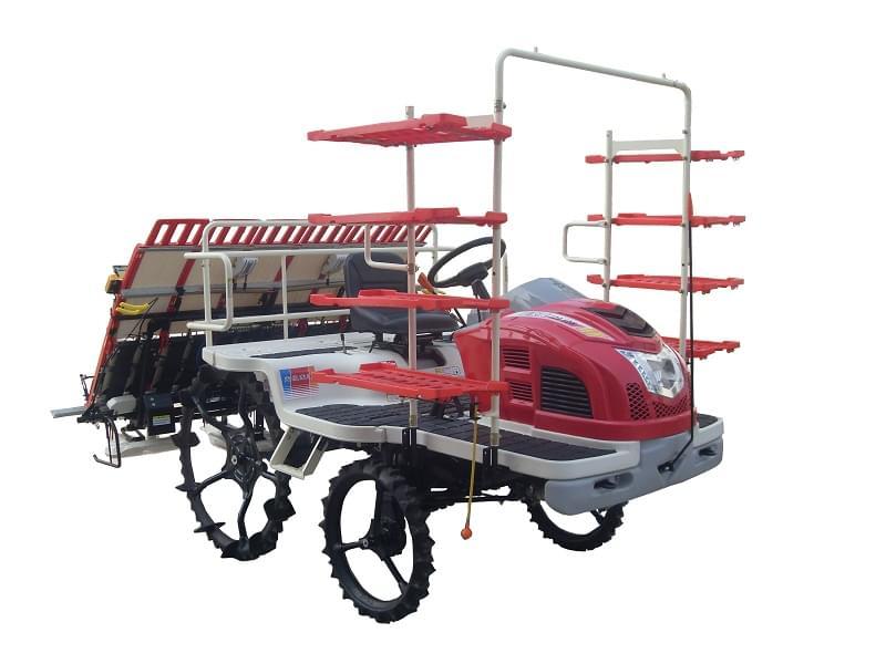 富来威2ZG-6DM乘坐式高速插秧机(柴油动力)