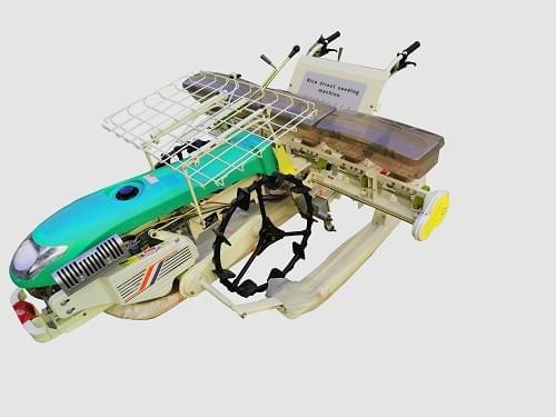 富来威2BDX-6F手扶式水稻穴直播机